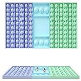 Rpporm Sensory Fidget Toys Set, einfaches Fidget Toy Fidget Pack, Push Pop Bubble Fidget Sensory Toy, Fidget Box mit Stress Balls Spielzeug für Kinder oder Erwachsene Spiel