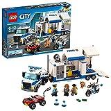 LEGO 60139 City Mobile Einsatzzentrale, Polizei-Motorrad und LKW, Spielzeug für Kinder ab 6 Jahre, Konstruktionsspielzeug