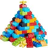 WYSWYG Große Bausteine Kinder, 240 Stück Bauklötze Steine Groß für Kleinkind, Kompatibel mit Allen Großen Marken, STEM Spielzeug ab 3 4 5 Jahr, Kreativ Lernspielzeug, Geschenk zum Jungen Mädchen