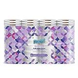 Amazon-Marke: Presto! 4-lagiges Toilettenpapier, 24 Rollen (2 x 12 x 160 Blätter)