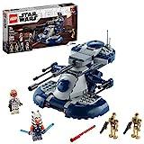 LEGO Star Wars: The Clone Wars Armored Assault Tank (AAT) Bauset, Awesome Konstruktionsspielzeug für Kinder mit Ahsoka Tano Plus Battle Droid Actionfiguren, New 2020 (286 Teile)