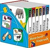 Duden 12+: Kennst du das? Meine bunte Kinderwelt (Würfel): 6 Mini-Bücher (Pappbilderbuch Bücher-Würfel, Band 1)
