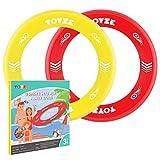 Toyze Kinder Spielzeug Mädchen 3-12 Jahre, Flying Disc Wurfspiel Kinder Mini Flying Ring Jungen Geschenke 3-12 Jahre Boomerang Spielzeug für Jungen 3-12 Jahre