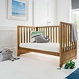 Silentnight Safe Nights Luxury Cot Bed Mattress Kinderbett-Matratze, Eco Comfort Faser, Toddler (70 x 140 cm)