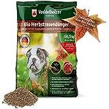 Veddelholzer Bio Herbstrasendünger mit Langzeit-Wirkung nachhaltiger Bodenaktivator mit Kalium ideal als Herbstdünger zur Überwinterung Rasendünger Herbst, Langzeitdünger für frostbeständigen Rasen