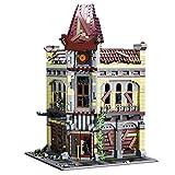 Gooratu Modular Haus Bausteine Modell - 2193 + Teilen Ruiniertes Theater Architektur Bausatz Custom Bauspiel Kompatibel mit Lego Haus (2193+ pcs)