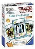Ravensburger tiptoi 00767 Wissen und Quizzen: Süße Tierkinder, Quizspiel für Kinder ab 6 Jahren, für 1-6 Spieler