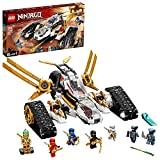 LEGO 71739 NINJAGO Ultraschall-Raider, Konstruktionsspielzeug Set für Jungen und Mädchen ab 9 Jahre mit Figuren