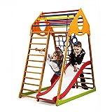 Kinder Aktivitätsspielzeug'Kindwood-1' Kletterturm mit Rutsche Spielcenter Spielplatz