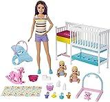 Barbie GFL38 Skipper Babysitters Inc. Kinderzimmer Spielset, Puppen Spielzeug ab 3 Jahren