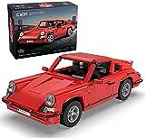 Classic German Sports Car 1:12.5, rot, 1429 Teile (kompatibel mit Lego Technic), C61045W, CaDA Master Series, Designer Markus Schlegel
