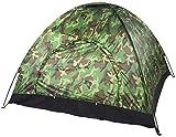 AIBOOSTPRO Campingzelt, Outdoor Camping Zelt Camouflage 3-4 Personen, Wasserdicht Camouflage UV-Schutz 3-4 Personen Zelt für Outdoor, Camping, Wandern, Trekking, Festival mit Tragbaren Tragetasche