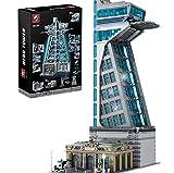 Koyae Hero Tower Architektur Bausteine Bausatz, Modular Buildings, Konstruktionsspielzeug Kompatibel mit Lego Haus (5883 Pcs)