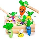Montessori Spielzeug ab 2 3 4 Jahr Mädchen Jungen Kinder, Geschenke ab 2 3 4 Jahre Mädchen Junge Holzspielzeug ab 18 24 36 Monate Baby Lernspielzeug 2 3 Jahr Mädchen Puzzle Spiel ab 2 3 4 Jahre Kinder