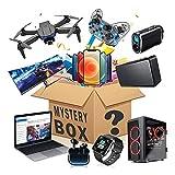 Mystery Box Elektronisch,Überraschungsbox,Einschließlich Der Neuesten Modelle Von Drohnen, Gamecontrollern, Headsets, Laptops, Mobiltelefonen, Smartwatches A