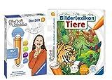 tiptoi® Bilderlexikon Tiere Bilderbuch + Ravensburger 008018 Stift