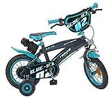 12 Zoll 12' Kinderfahrrad Kinder Jungen Fahrrad Rad Bike BMX Jungenfahrrad Blue Ice