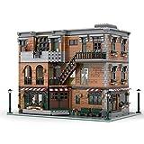 OLOK Modular Haus Modell Bausatz, MOC-79570, 4642 Klemmbausteine Modular 3-layer Haus Freunde Wohnung Modell Bausteine, Kompatibel mit Lego Creator
