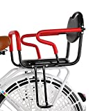 XUDAN Kindersitze Fahrrad,Fahrrad Hinten Kindersitz,Mit Abnehmbarer Zaun Armlehne Und Pedal-KöRnerkissen Baby Sicher Sitzen Verdickung Verbreiterung FüR 1-16 Jahre Altes