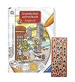 tiptoi Ravensburger Englisch-Buch - Grundschulwörterbuch Englisch + Minions-Sticker