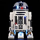 LODIY Beleuchtung Licht Set für Lego R2-D2 75308, LED Beleuchtung für Lego 75308 R2D2 (NUR Licht, Nicht Enthalten Lego Modell) (Classic Version)