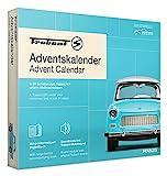 FRANZIS 67115 - Trabant Adventskalender 2020 – in 24 Schritten zum Trabant 601 unterm Weihnachtsbaum, Bausatz für das detailgetreue Modell-Auto im Maßstab 1:43, empfohlen ab 14 Jahren