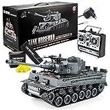 GOODS+GADGETS Ferngesteuerter RC German Tiger I 2.4GHz R/C Panzer 1:16 Modellbau mit Schuss-Funktion, Sound - RTR (Tiger I)