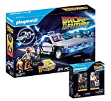 PLAYMOBIL Back to The Future - Set: 70317 Delorean + 70459 Marty McFly und Dr. E