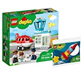Collectix Lego Set - DUPLO Flugzeug und Flughafen 10961 + DUPLO Meine erste Weltraumrakete 30332