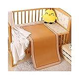 Mobile Klimageräte Bambus-Bettmatte Rattan Kühlung Sommer Schlafmatte Rattan, Bambus Kinder Matratze (Keine Kissen Shams) (Size : 80x150cm)