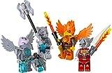 LEGO Chima 850913: Feuer und Eis Minifiguren-Zubehör-Set