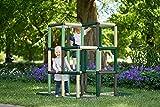Quadro | Kletterpyramide Home für drinnen und draußen | Fördert Entwicklung von Kindern | Beliebig modular & erweiterbar | 6 Jahre Garantie | Ab 1 bis 4 Jahre (Mint)