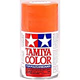TAMIYA 86020 PS-20 Neon Rot Polycarbonat 100ml-Sprühfarbe für Plastikmodellbau, Bastelzubehör, Sprühfarben für den Modellbau