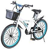 Actionbikes Kinderfahrrad Donaldo - 20 Zoll - V-Break Bremse vorne - Seitenständer - Luftbereifung - Ab 2-9 Jahren - Jungen & Mädchen - Kinder Fahrrad - Kinderrad (20`Zoll)