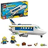 Lego 75547 Minions Flugzeug Spielzeug mit Figuren: Stuart und Bob, Set für Minions-Fans