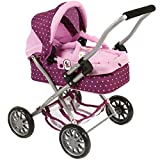 Bayer Chic 2000 555 29 Puppenwagen Smarty, lila, rosa