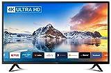 DYON Smart 43 XT4K 108 cm (43 Zoll) Fernseher (4K Ultra-HD Smart TV, HD Triple Tuner (DVB-C/-S2/-T2), Prime Video, Netflix & HbbTV) [Modelljahr 2021]