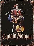 ERTYR 1000 Teilige Puzzles Für Erwachsene Filmplakat Von Captain Morgan Puzzlesets Für Familien Geschicklichkeitsspiel Für Die Ganze Familie Kreative Geschenke 75X50Cm(1000Pcs)