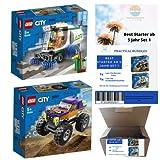ValuEnvironment Living Practical Bundles - Best Starter ab 5 Jahr Set 1 - Lego City Monster-Truck + Lego City Straßenkehrmaschine