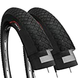 Fincci Paar 20 x 1,95 Zoll 53-406 Reifen für BMX oder Kinder Fahrrad (2er Pack)