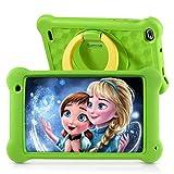 Surfans Kinder-Tablet, 2 GB RAM + 32 GB ROM, 7-Zoll-1200 * 1920IPS, Android 10.0 WiFi-Tablets für Kinder Kids Jungen Mädchen, Grün