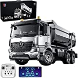 s-idee® E590-003 Mercedes Arocs Rc Dump Truck Metall Kipper 1:20 LKW 10 Kanal Kipplader Double E CADA E-590