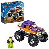LEGO 60251 City Monster-Truck Spielzeug, Spielzeugauto als spannendes Geschenk für Mädchen und Jungen ab 5 Jahre