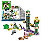 LEGO 71387 Super Mario Abenteuer mit Luigi – Starterset, Spielzeug mit Einer interaktiven Figur, modulares Set
