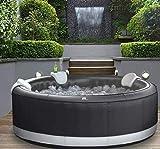 DEKO VERTRIEB BAYERN XXXL Luxus Premium SPA Whirlpool aufblasbar Outdoor Indoor Pool Heizung 6 Pers. MSPA Camaro Neustes Modell 2021 - Mallorca Feeling pur