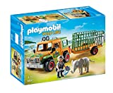 PLAYMOBIL Wild Life 6937 Rangergeländewagen mit Anhänger, Ab 4 Jahren [Exklusiv bei Amazon]