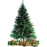 Wohaga Künstlicher Weihnachtsbaum Tannenbaum inklusive Christbaumständer 210cm / 720 Spitzen Weihnachtsdekoration künstliche Tanne