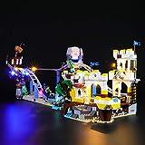 BRIKSMAX Led Beleuchtungsset für Lego Piraten Achterbahn,Kompatibel Mit Lego 31084 Bausteinen Modell - Ohne Lego Set