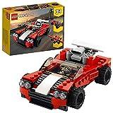 LEGO 31100 Creator 3-in-1 Sportwagen, Hot Rod oder Flieger, Spielzeuge für Jungen und Mädchen ab 7 Jahren
