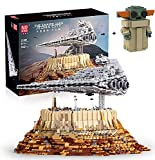 KEAYO Technik Sternenzerstörer Modell, Mould King 21007, 5162 Teile Groß UCS Super Star Destroyer MOC Klemmbausteine Bauset Kompatibel mit Lego Sternenzerstörer